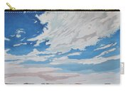 Clouded Sky On The Valley Carry-all Pouch