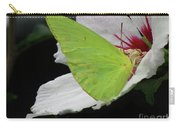 Cloudless Giant Sulphur Butterfly  Carry-all Pouch