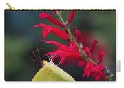 Cloudless Sulphur And Pineapple Sage Carry-all Pouch