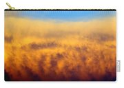 Clouds Ablaze Carry-all Pouch by Marty Koch