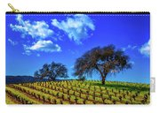 Clouds Above Vinyards Carry-all Pouch