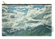 Clouds Alaska Mtns  Carry-all Pouch