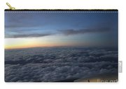 Clouds And Plane Carry-all Pouch