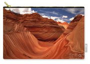 Clouds And Sun Over The Wave Carry-all Pouch