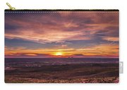 Clouds And Sunset Carry-all Pouch