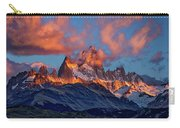Clouds Around Fitz Roy - Patagonia Carry-all Pouch