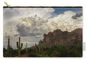 Clouds Bubbling Over The Superstitions  Carry-all Pouch