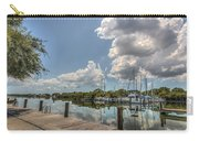 Clouds Down The Bay Carry-all Pouch