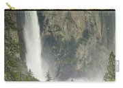 Clouds Hang Over Bridaveil Falls Carry-all Pouch