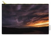 Clouds In A Night Desert  Carry-all Pouch