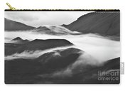 Maui Hawaii Haleakala National Park Clouds In Haleakala Crater Carry-all Pouch
