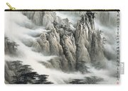 Clouds In The Mountain Carry-all Pouch