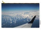 Clouds Under An Airplane Wing Carry-all Pouch