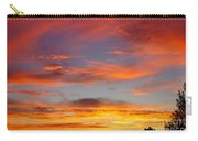 Clouds On Fire Carry-all Pouch