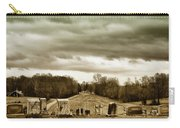 Clouds Over Cemetery Carry-all Pouch