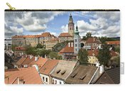 Clouds Over Cesky Krumlov Carry-all Pouch