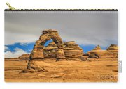 Clouds Over Delicate Arch Carry-all Pouch