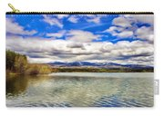 Clouds Over Distant Mountains Carry-all Pouch