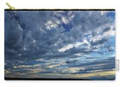 Clouds Over English Bay From Sunset Beach Vancouver Carry-all Pouch