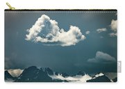 Clouds Over Glacier, Banff Np Carry-all Pouch