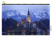 Clouds Over Lake Bled Carry-all Pouch