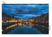 Clouds Over Ponte Vecchio Carry-all Pouch