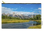 Clouds Over The Grand Tetons Carry-all Pouch