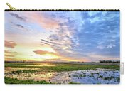 Clouds Over The Marsh 4 Carry-all Pouch