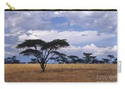 Clouds Over The Masai Mara Carry-all Pouch