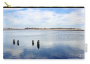 Clouds Over The Mullica River Carry-all Pouch