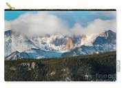 Clouds Receding On Pikes Peak Carry-all Pouch