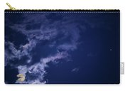 Cloudy Moon With Jupiter Carry-all Pouch