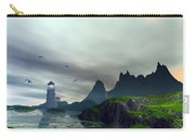 Cloudy Ocean Scene Carry-all Pouch