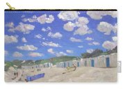 Clouds Above The Sunny Beach Carry-all Pouch