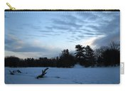 Cloudy Winter Dawn Carry-all Pouch