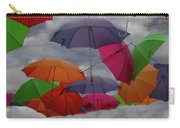 Cloudy With A Chance Of Umbrellas Carry-all Pouch