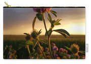 Clover At Sunset Carry-all Pouch by Viviana Nadowski