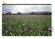 Clover Field Wiltshire England Carry-all Pouch