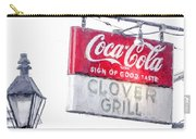 Clover Grill Coke Sign Carry-all Pouch