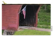 Clover Hollow Covered Bridge 01 Carry-all Pouch
