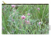 Clover In The Grass Carry-all Pouch