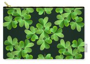 Clover Print Carry-all Pouch