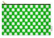 Clover Titled  - Pattern Carry-all Pouch