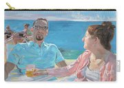 Clovis And Bethany At Tobacco Bay, Bermuda Carry-all Pouch