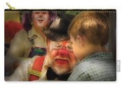 Clown - Face Painting Carry-all Pouch by Mike Savad