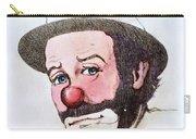 Clown Emmett Kelly Carry-all Pouch
