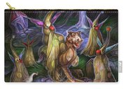 Clown Ghosts Play In A Graveyard Carry-all Pouch