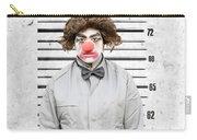 Clown Mug Shot Carry-all Pouch