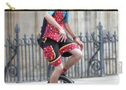 Clown Riding Unicycle In Town Carry-all Pouch