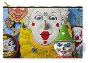 Clown Toys Carry-all Pouch by Garry Gay